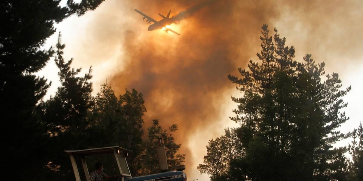 Los números del combate contra los incendios: 1.800.000 litros de agua utilizada y 19.974 efectivos en la zona