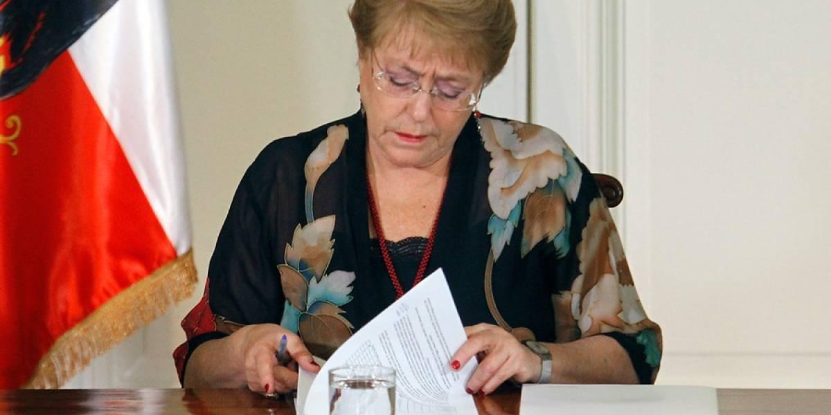 Adimark: aprobación de la Presidenta Bachelet alcanza el 27%