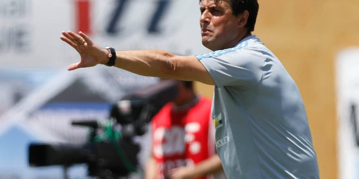 """Hoyos tras derrota de la U: """"Hubo momentos de buen fútbol y eso habla bien del futuro"""""""