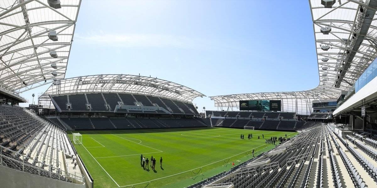 Se inaugura el estadio del LAFC de Carlos Vela