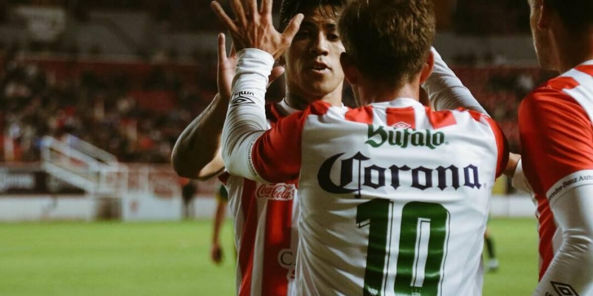 Edson Puch reapareció en Necaxa anotando un gol en triunfo por Copa MX