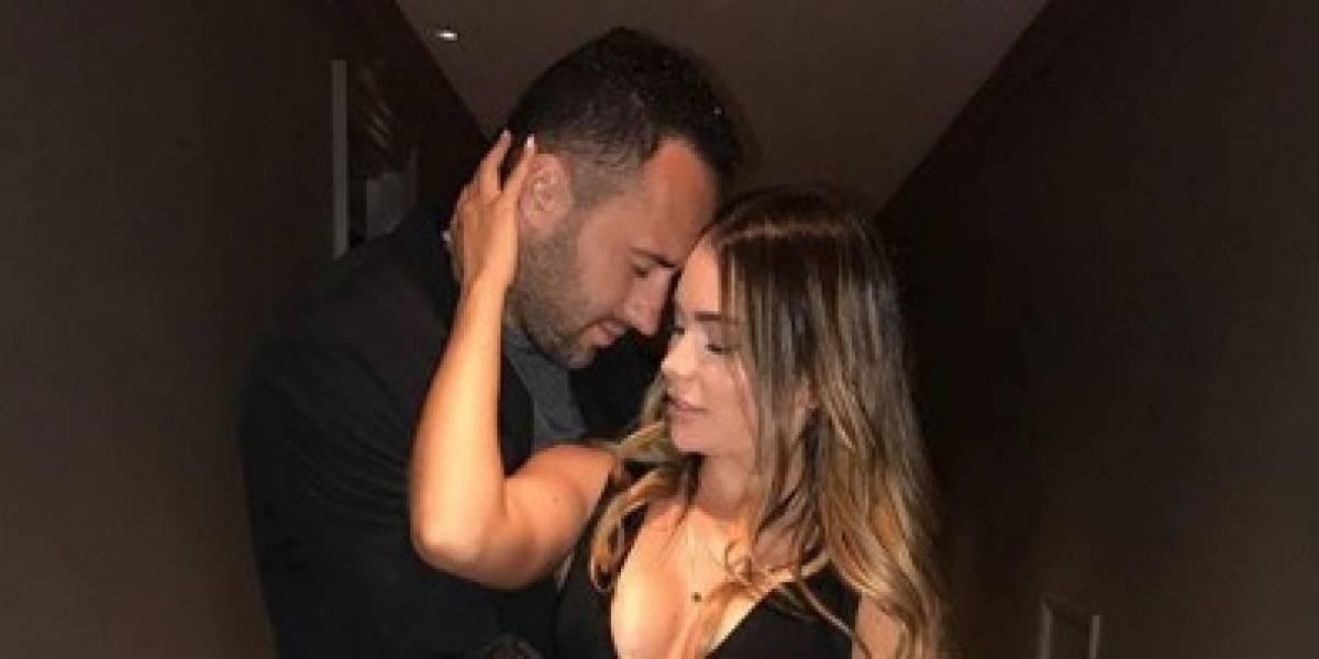 La esposa de David Ospina sorprendió a sus seguidores con esta fotografía