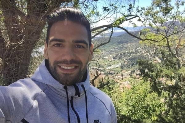 Falcao García estuvo presente y apoyó a dos deportistas colombianos