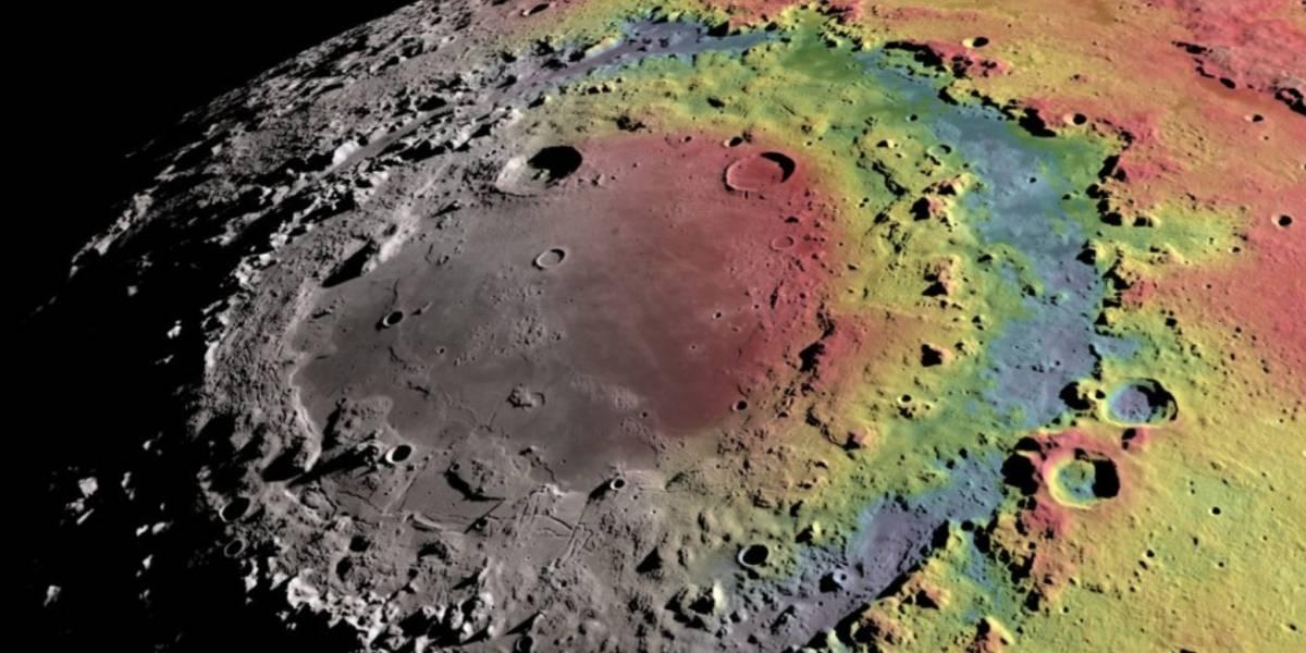 Gracias a la NASA podrás recorrer la Luna en 4K