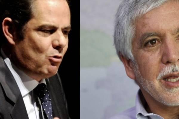 Enrique Peñalosa y Germán Vargas Lleras