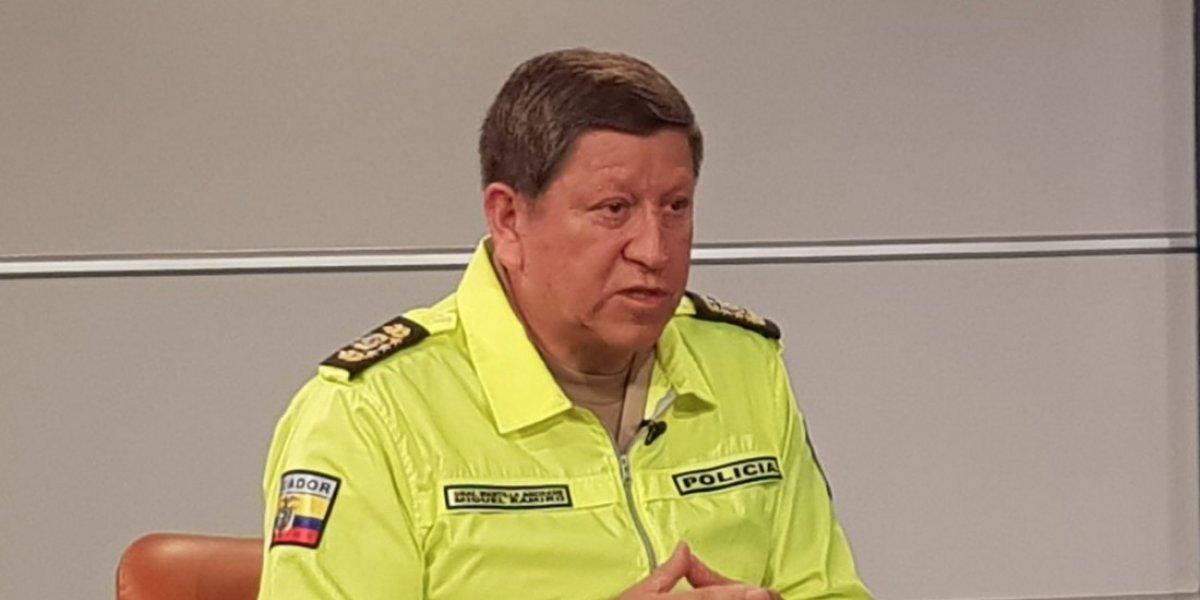 Comandante General de la Policía Nacional se pronuncia sobre la seguridad en Ecuador