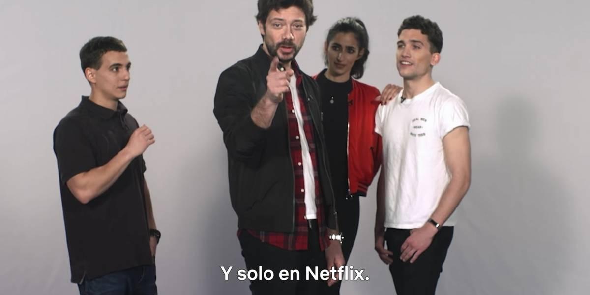 """Confirmado: """"La casa de papel"""" tendrá tercera temporada en Netflix"""