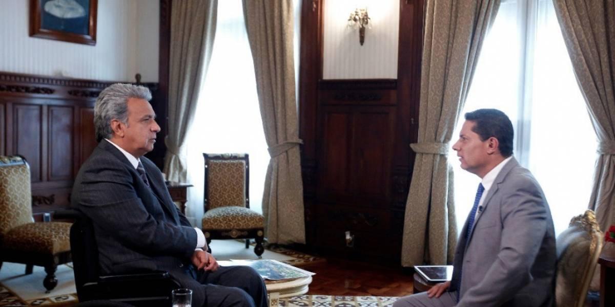 Lenín Moreno: Al expresidente Correa no le convenía que salga bien el tema del equipo periodístico de El Comercio