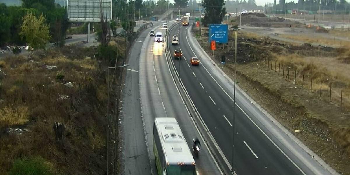 Anuncian desvíos de tránsito para este fin de semana por trabajos en Puente Maipo de la Ruta 5 Sur