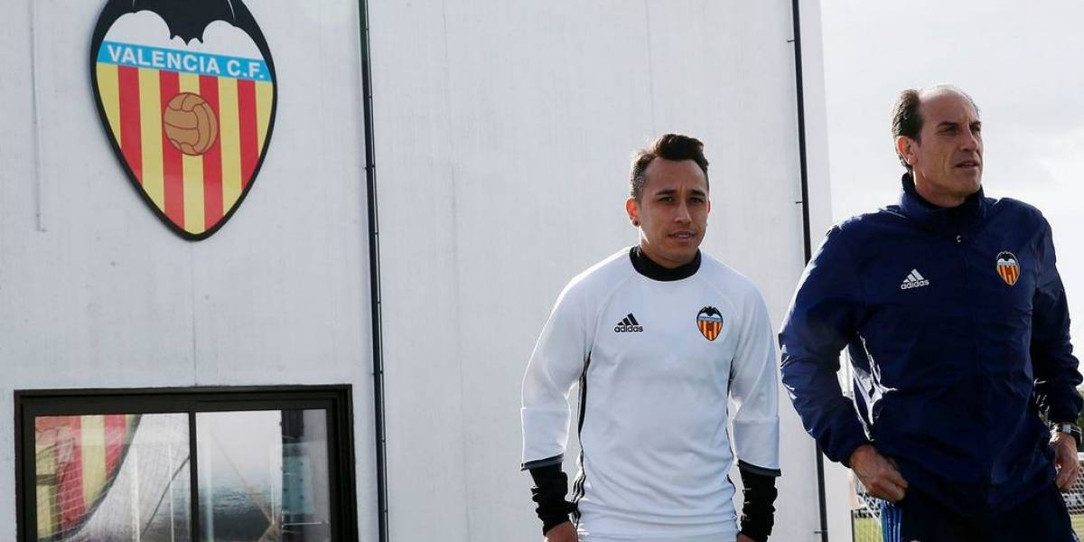 Triste debut: Orellana jugó en humillante derrota de Valencia ante Eibar