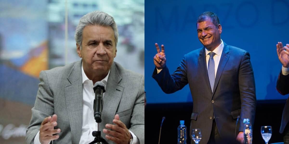 Lenín Moreno pide investigar supuesta entrega de dinero de FARC a Rafael Correa