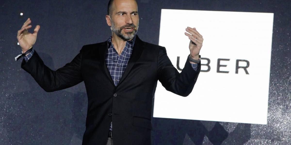 """CEO de Uber visitó Chile: """"El país está entre los 10 mercados más importantes para la firma"""""""