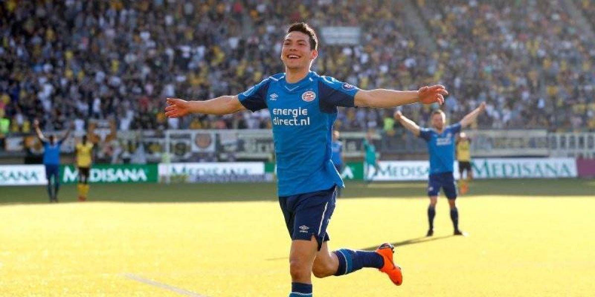 Chucky Lozano marca golazo en empate del PSV