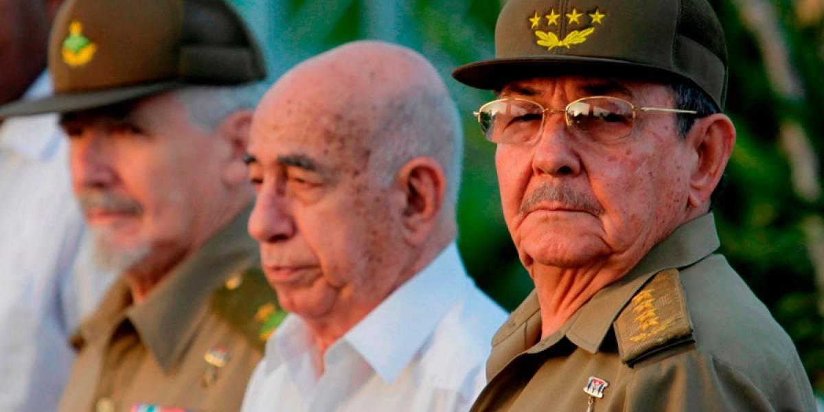 Algunos de los principales dirigentes que representan a la generación histórica del poder en Cuba