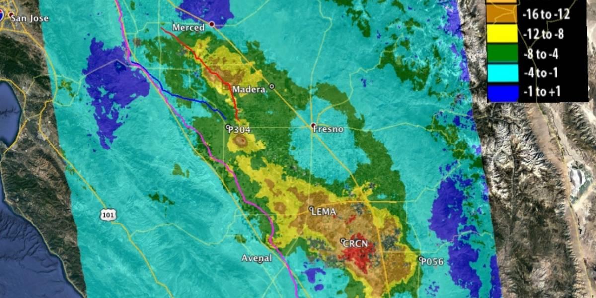 NASA advierte de hundimiento en California, millones de personas en peligro