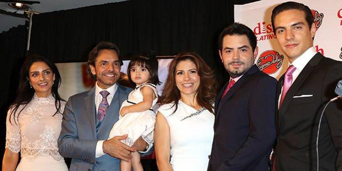 Estos son los verdaderos apellidos de Eugenio Derbez y sus hijos