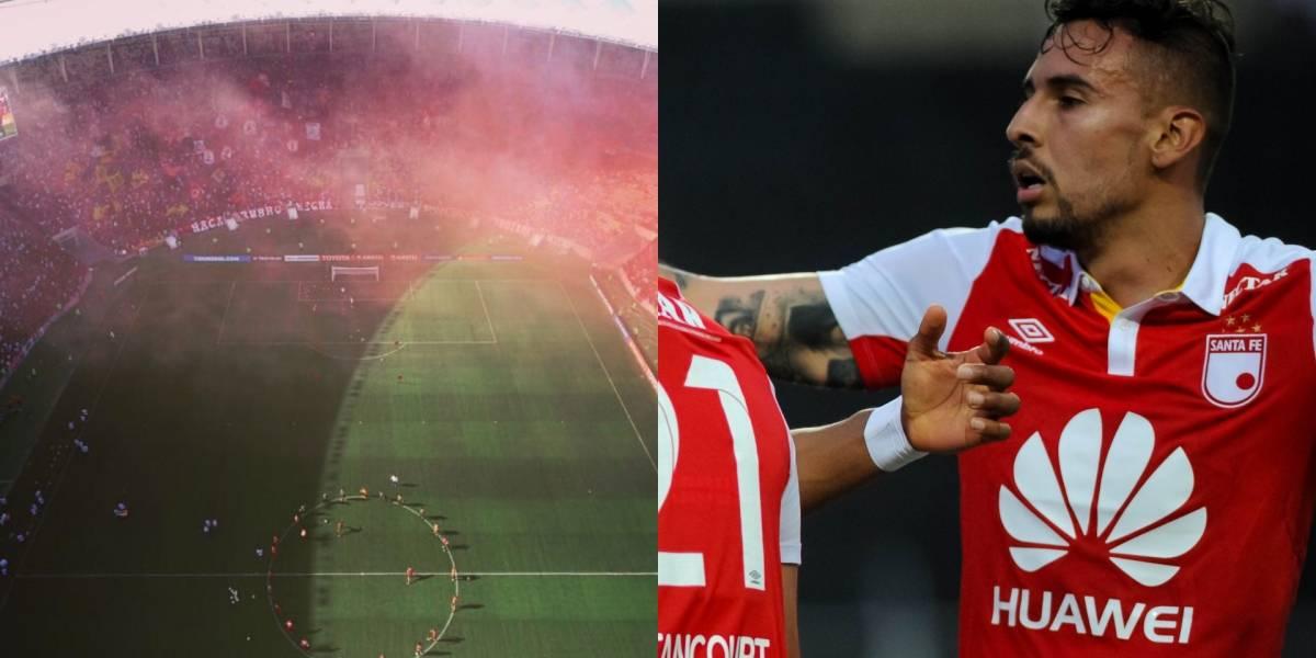 Hinchada de Flamengo reventó el Maracaná previo al duelo ante Santa Fe