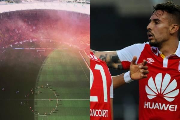 Hinchada de Flamengo reventó el Maracaná