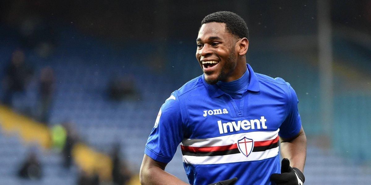 Duván Zapata marcó y le dio el triunfo a Sampdoria sobre Bologna