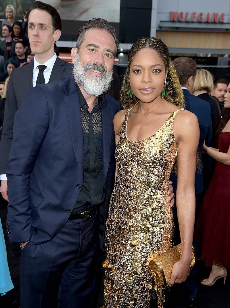 Jeffrey Dean Morgan y Naomi Harris