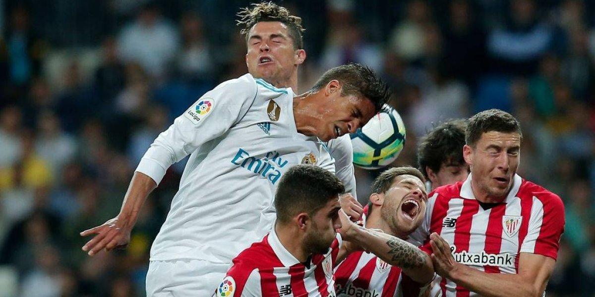Real Madrid evita otro descalabro en la Liga española gracias a la fortuna de Cristiano