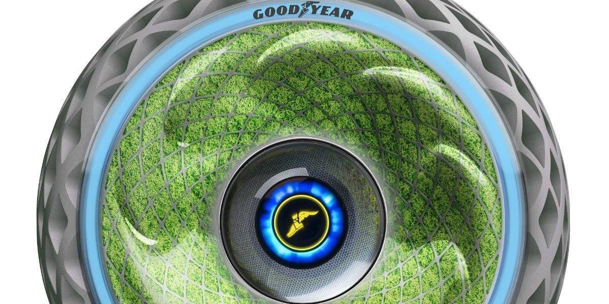 Éste es Oxygene, el neumático ecológico de Goodyear