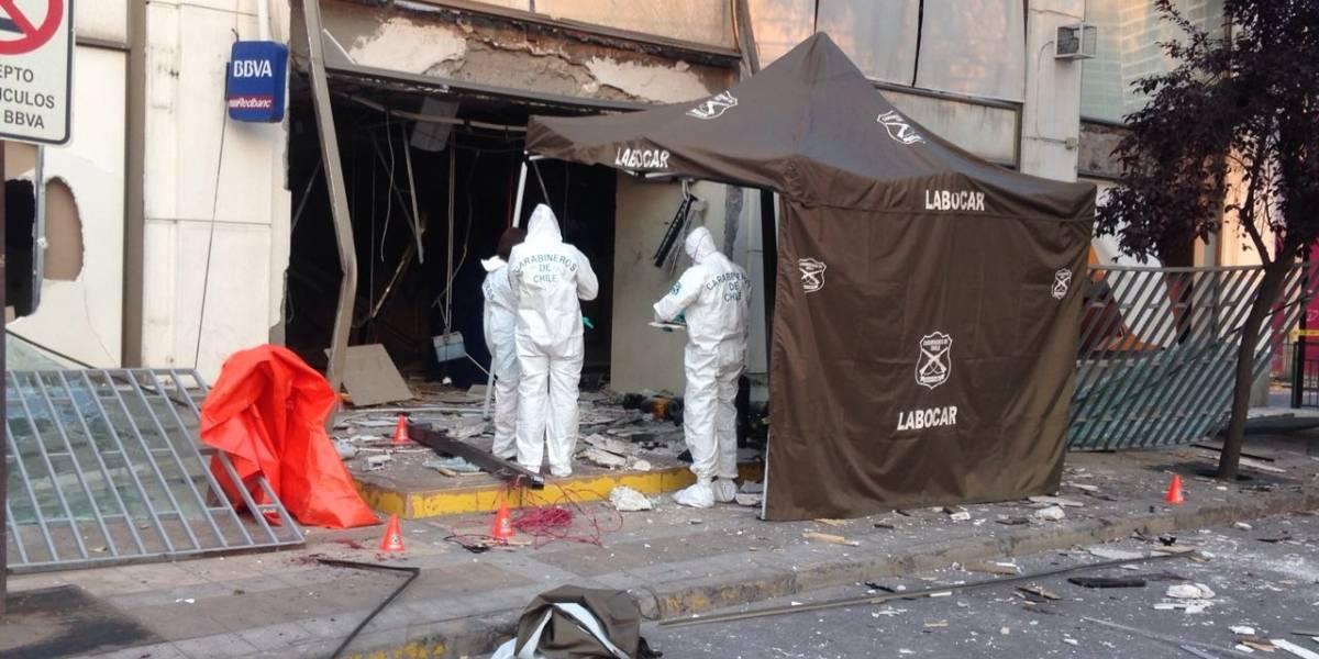 Delincuente muere por explosión tras robo de cajero automático en San Joaquín