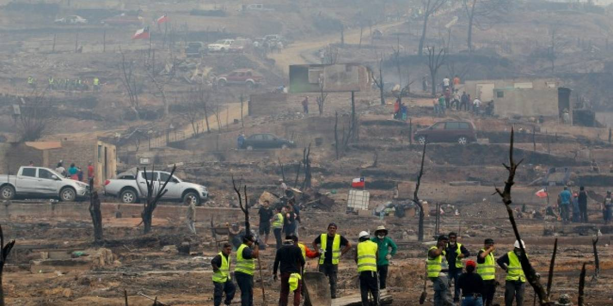 Incendios forestales: Gobierno calcula el costo de la emergencia en $233 mil millones