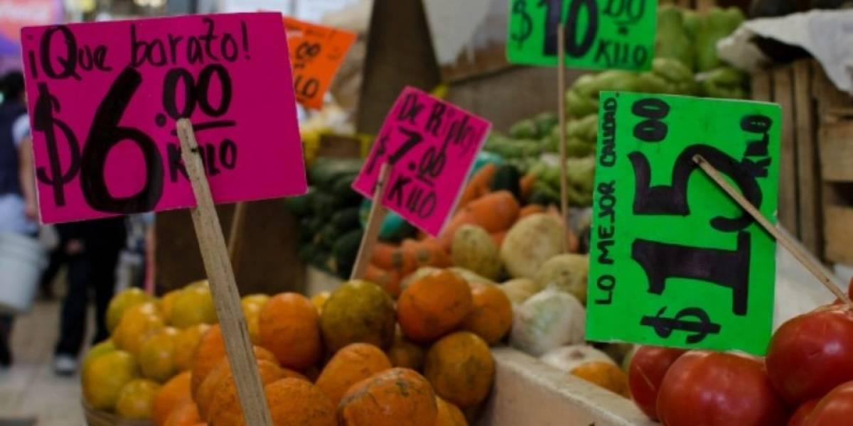 Inflación llega a 4.55%, su nivel más bajo en 16 meses