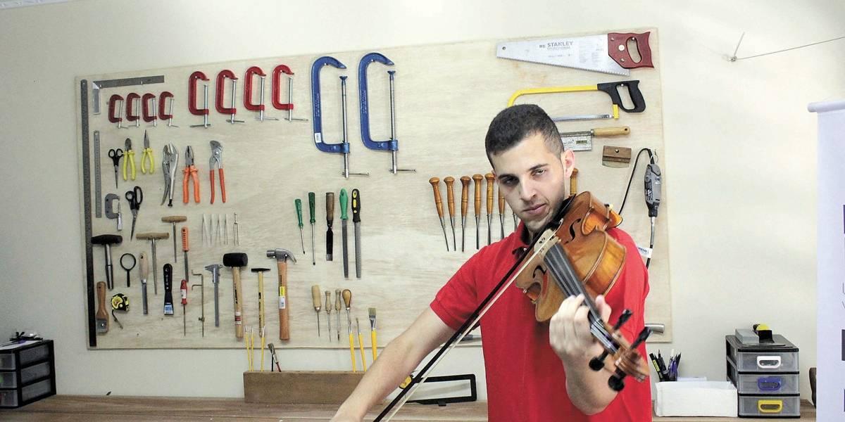 Projeto Locomotiva em Santo André produzirá instrumentos musicais para orquestra