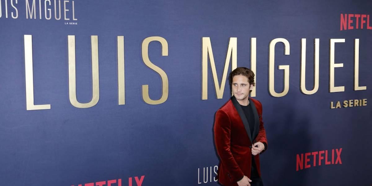 """Diego Boneta: """"Luis Miguel ha sido el mejor rodaje de mi vida"""""""