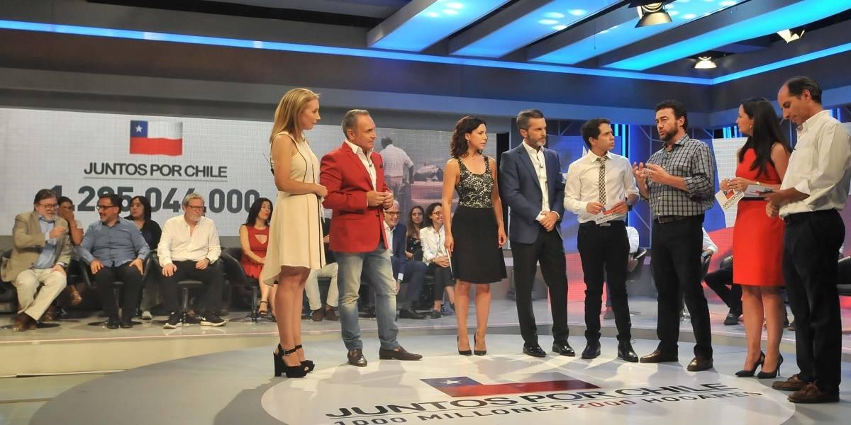 """TVN y Mega tendrán nueva transmisión conjunta en segundo cierre de campaña """"Juntos por Chile"""""""