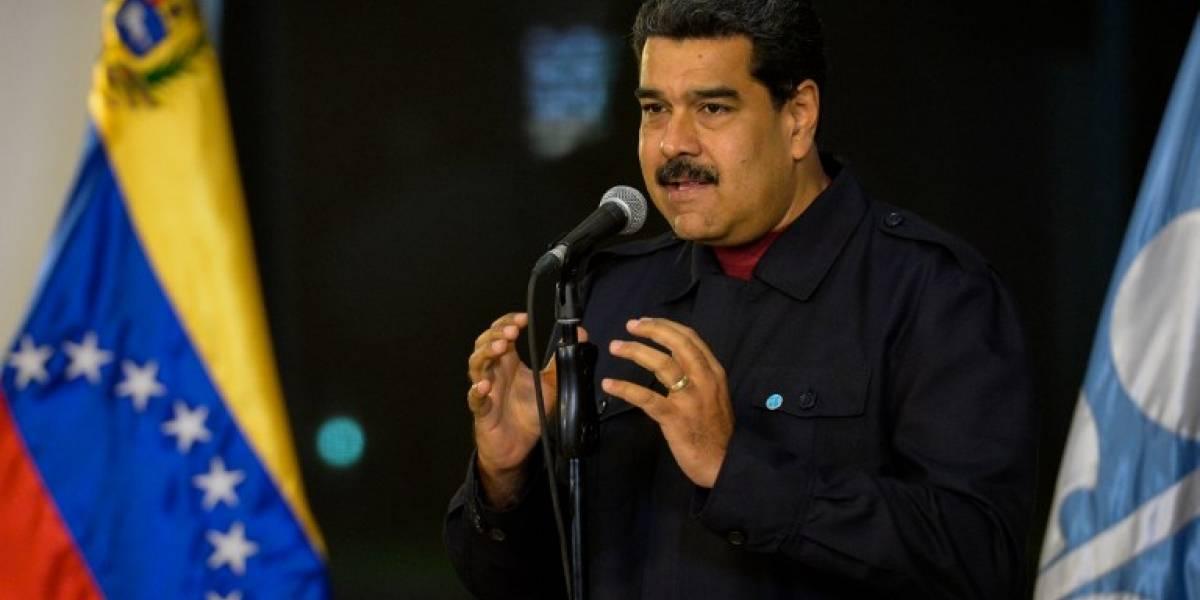 Explosión generó caos durante actividad oficial de Nicolás Maduro