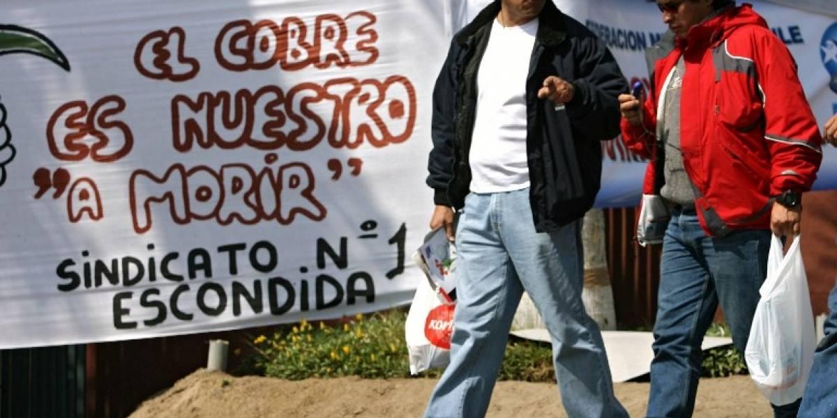 """En pausa huelga de Minera Escondida por solicitud de """"buenos oficios"""""""