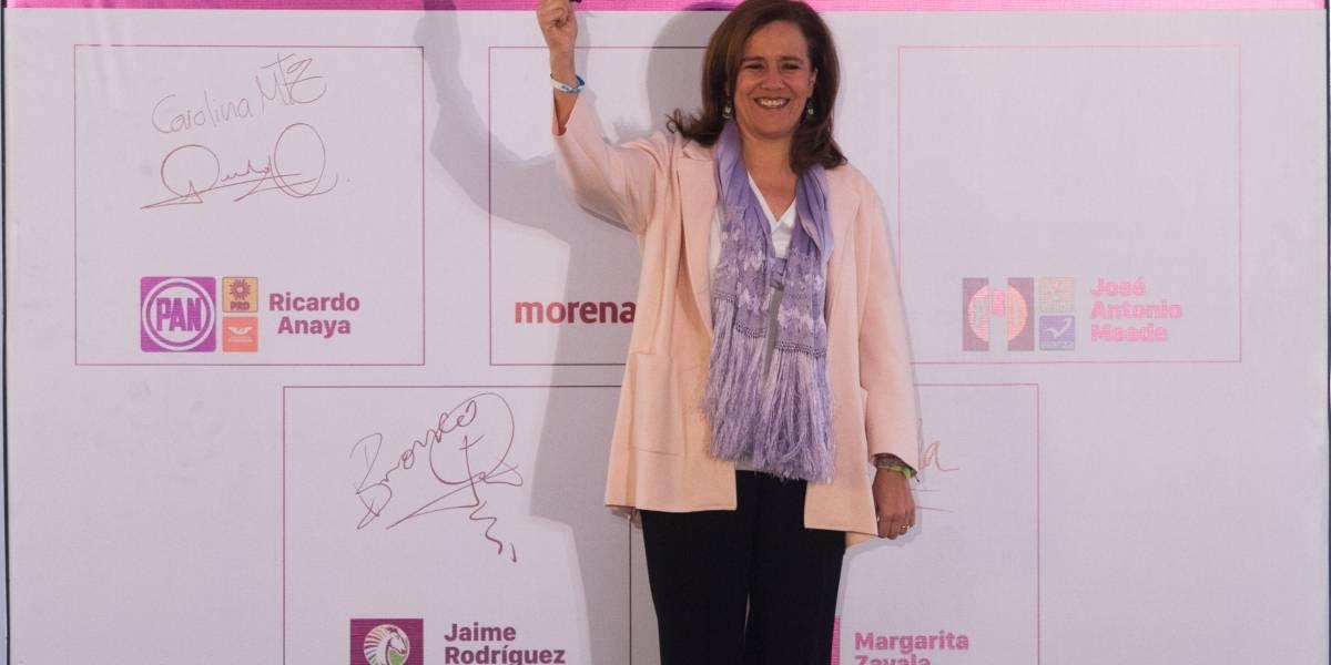 Así plantea Margarita Zavala combatir la delincuencia