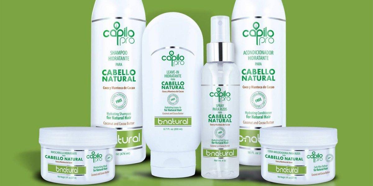Capilo presenta nueva línea de productos B-Natural