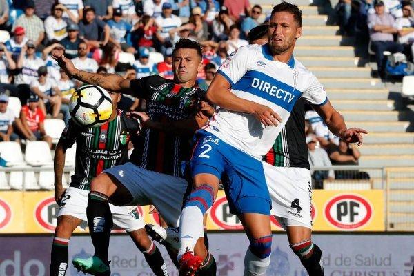 Germán Lanaro ha sido titular en 7 de los 9 encuentros oficiales de la UC en la era Beñat San José / Foto: Photosport