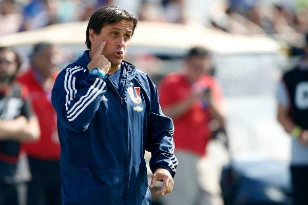 Ángel Guillermo Hoyos aseguró que la U jugará de grande a grande ante Cruzeiro / Foto: Photosport