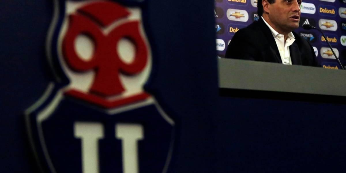 El once que tiene Hoyos en mente para su debut oficial en Universidad de Chile