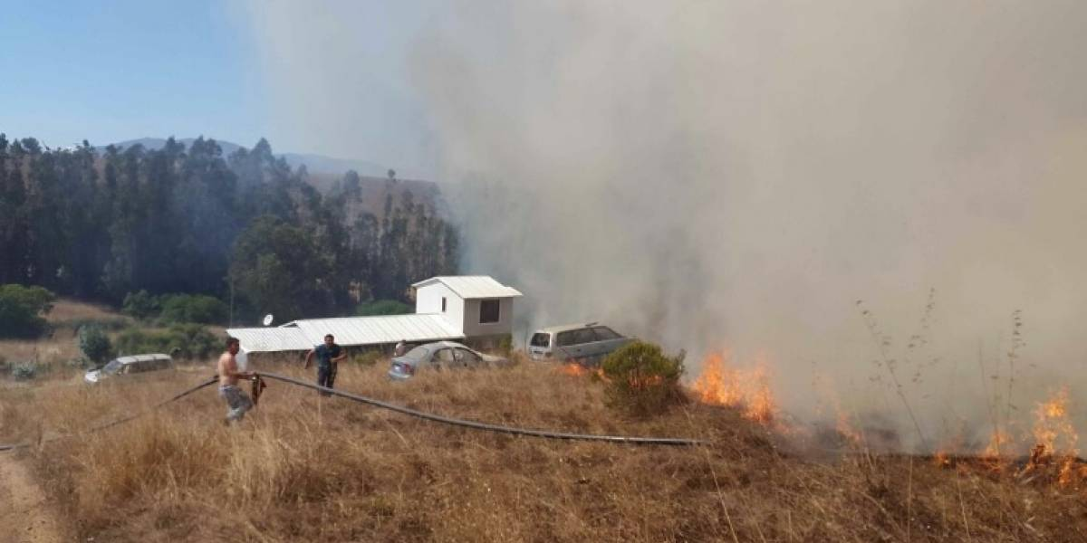SuperTanker e Ilyushin viajan a San Antonio luego que decretaran alerta roja por incendio forestal
