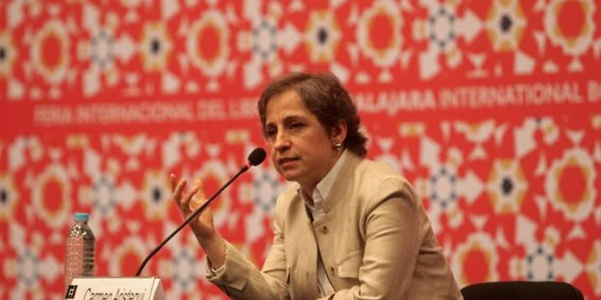Carmen Aristegui sorprende en portada de Vanity Fair México
