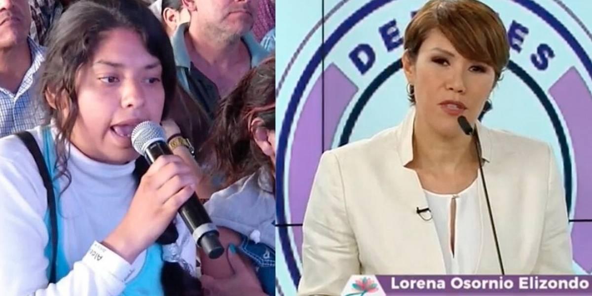 Ella es Lorena Osornio, la independiente que se llevó los memes del #DebateChilango