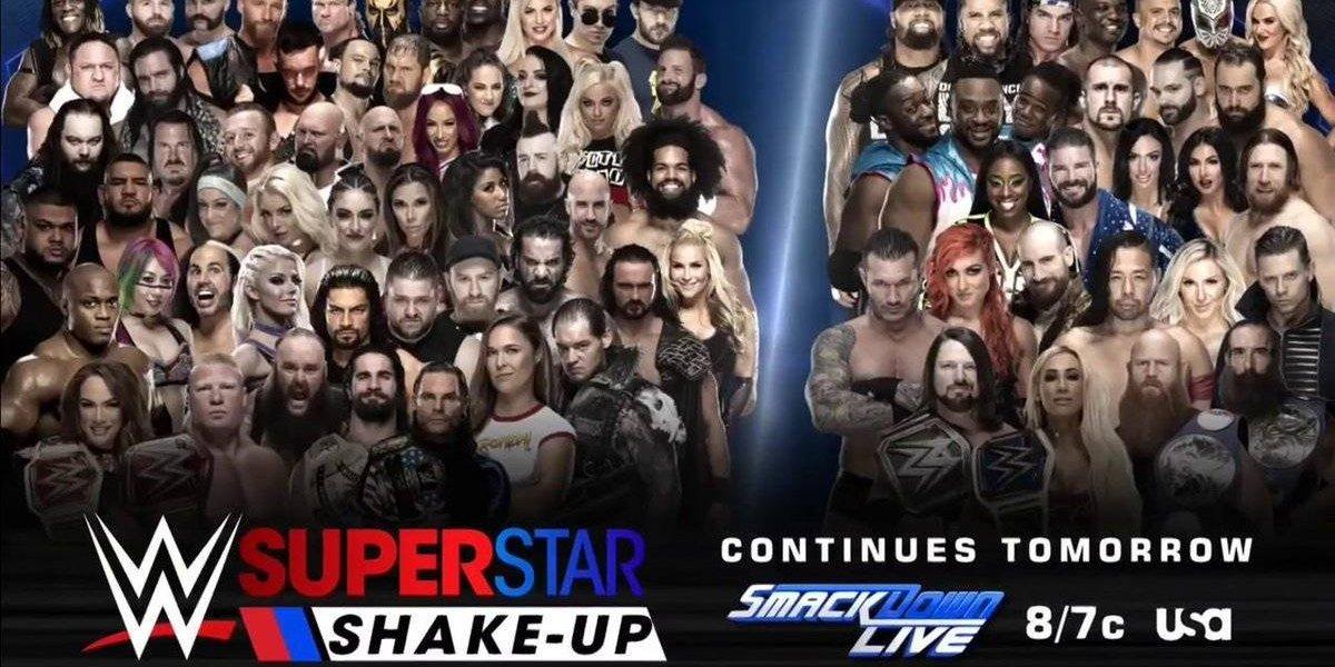 WWE Shakeup: todos los cambios de superestrellas entre Raw y Smackdown Live