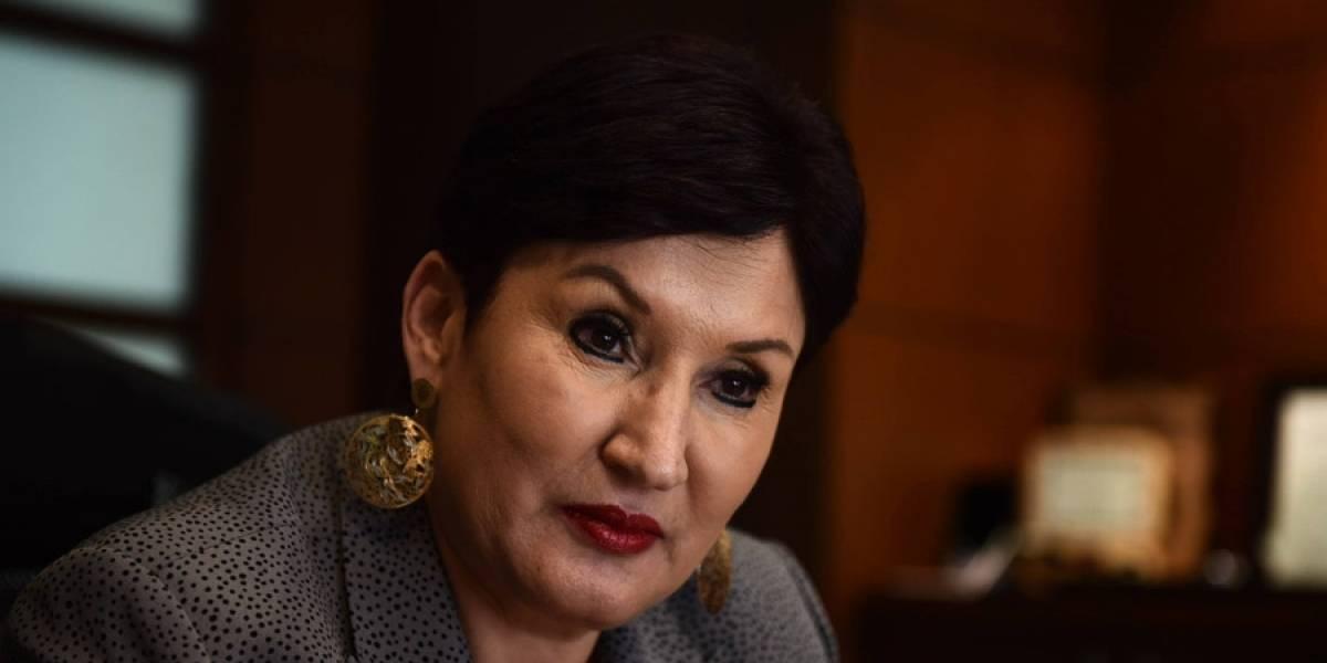 Thelma Aldana habla del caso de los señalamientos contra Mayra Véliz