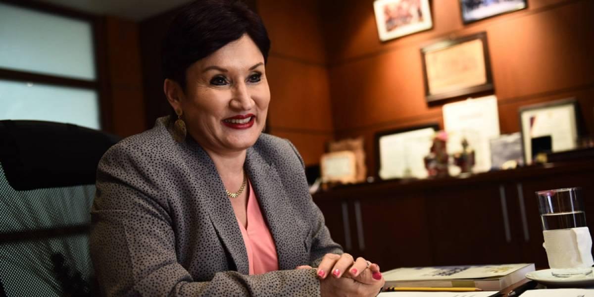 El tajante consejo que Thelma Aldana dio hace un tiempo a quien la sustituya
