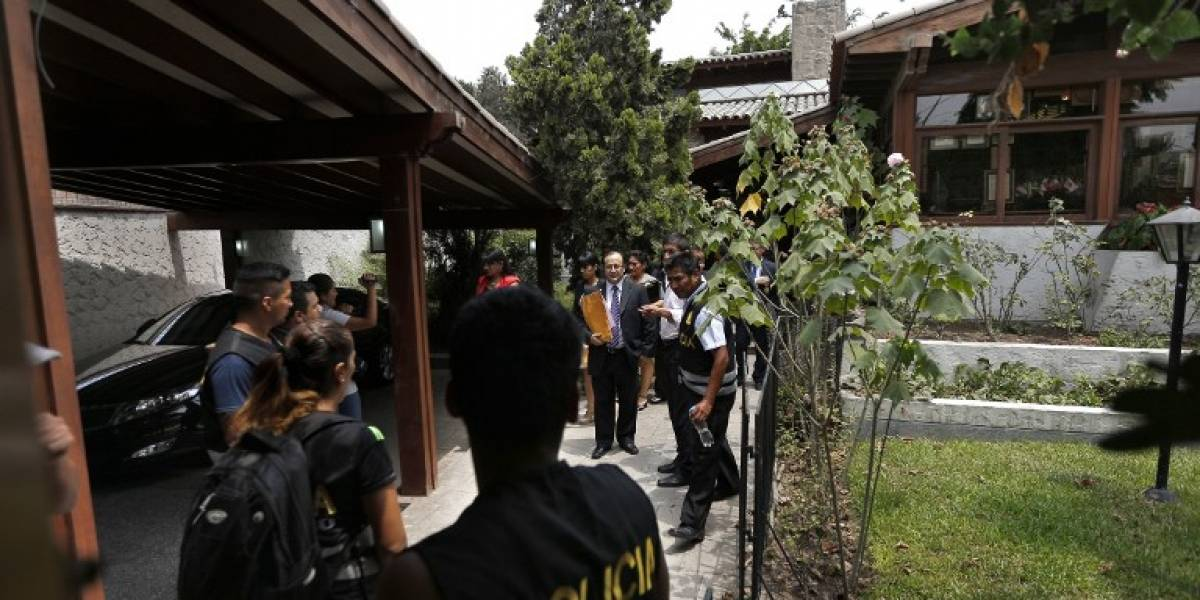 Caso Odebrecht: Registran vivienda del ex presidente peruano Toledo