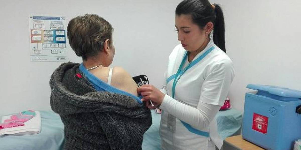 Vacúnese gratis contra el sarampión en Bogotá