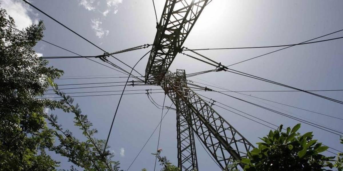 AEE: imagen de la torre afectada de la línea 50700 que provocó apagón general