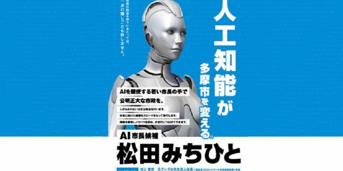 El robot candidato que se postuló contra la corrupción y perdió