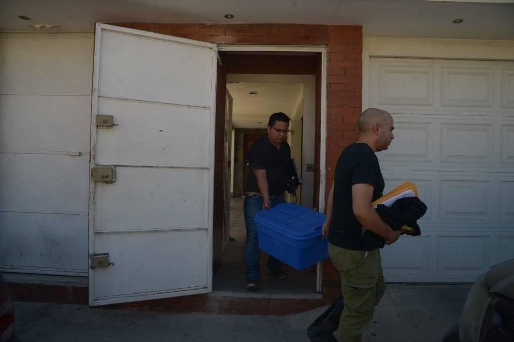 Los fiscales del MP secuestraron evidencias en la empresa de Escribá. Alejandro García